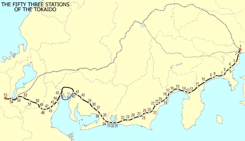 as 53 estações do tokaido